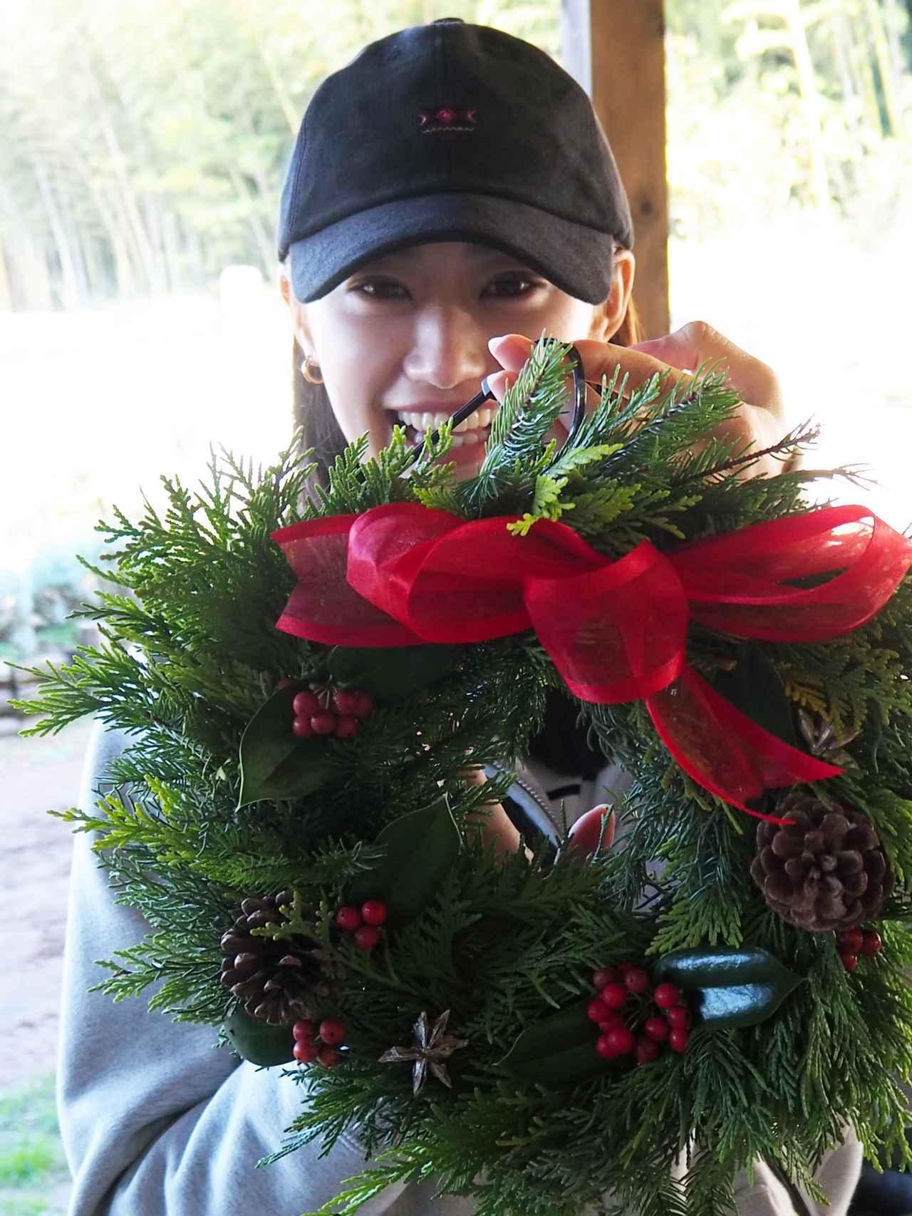 画像4: 恒例のクリスマスリース作りと燻製料理に舌鼓 Farming Event Report【2018.11.25】