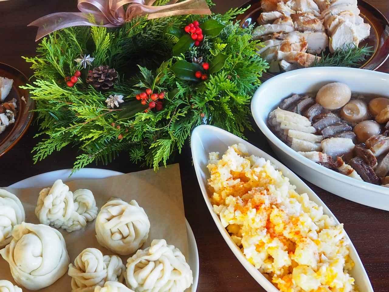 画像1: 恒例のクリスマスリース作りと燻製料理に舌鼓 Farming Event Report【2018.11.25】