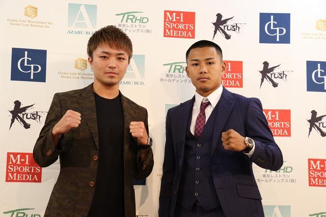 画像: 2019年は西京vs江川のフェザー級タイトル戦で開幕【1・26 Krush.97】