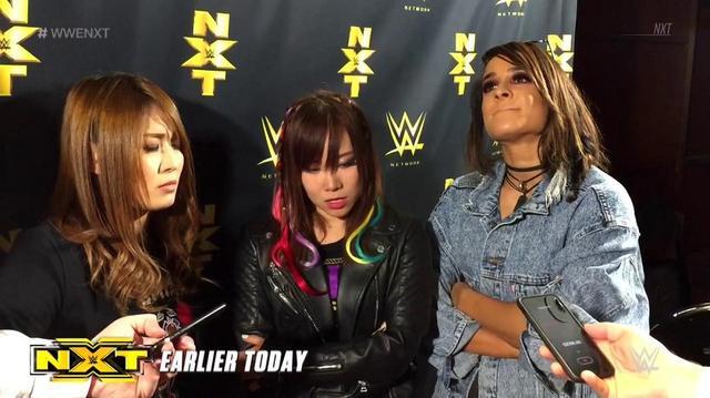 画像: フォー・ホースウィメンに対抗しカイリ、イオ、ダコタが団結【11・29 WWE NXT】