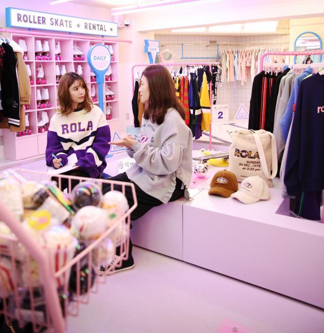 画像: 【FRONT LINE in 韓国】注目ブランド「rolarola」(4)人気の秘密をインタビュー