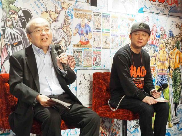 画像: 写真左よりゆでたまご・嶋田隆司氏、中野和雄氏