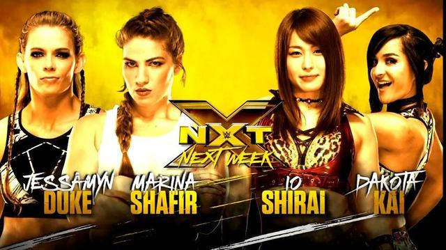 画像: イオとMMAフォー・ホースウィメンが12・20「NXT」で直接対決【WWE】