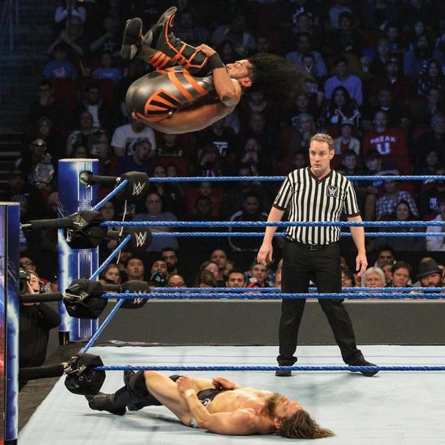 画像: WWE王者ブライアンがアリにまさかのフォール負け【12・18 WWE】