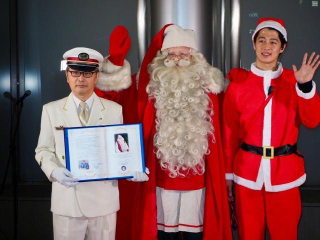 画像: サンタが東京駅にやってきた! 104周年アニバーサリー/12月20日(木)の東京イベント