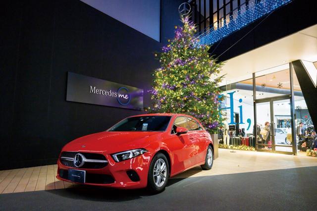 画像: メルセデス ミー 東京 (六本木)のクリスマス! 特別なひとときをメルセデスの世界観で、もっとスペシャルに。