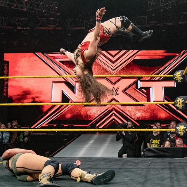 画像: イオ奮闘も...NXT女子王座挑戦権逃す【12・27 WWE NXT】