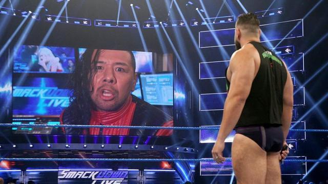 画像: 中邑真輔がルセフをキンシャサで返り討ち【1・8 WWE】