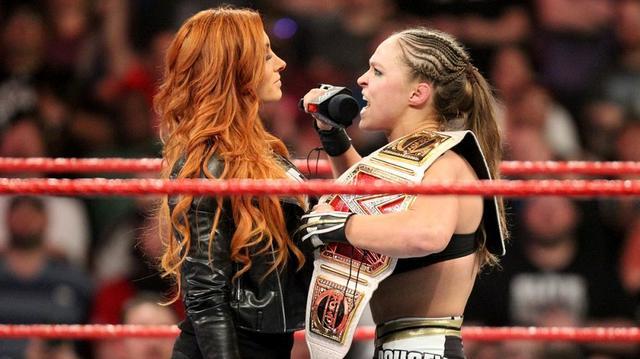 画像: ベッキー・リンチが「レッスルマニア35」でロンダへの挑戦表明【1・28 WWE】