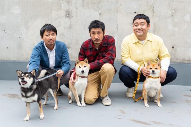 画像: おじさん3人×柴犬3匹 延々続く壮大な無駄話が究極の癒しに!?