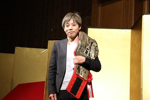 画像: RIZIN女子スーパーアトム級王者・浜崎朱加「準備はできているのでいつでも」と次戦を心待ち
