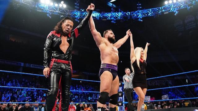 画像: 中邑&ルセフのライバルタッグがギャローズ&アンダーソンに勝利【2・5 WWE】