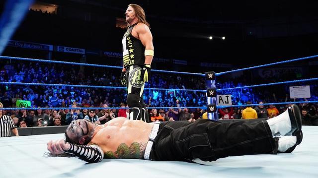 画像: 王者ブライアンがAJスタイルズとの激突を回避【2・5 WWE】