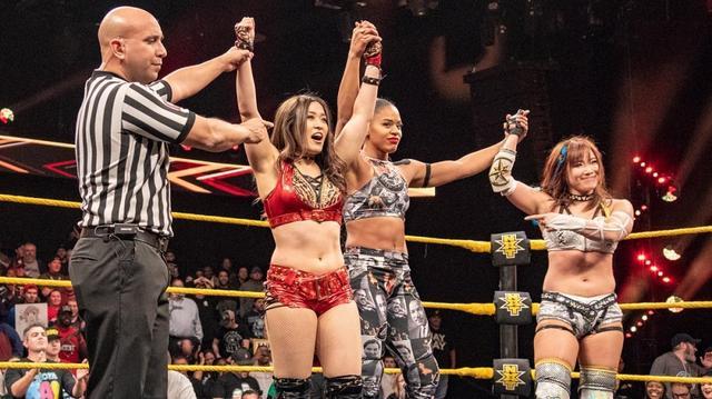 画像: イオがNXT女子王座挑戦権をかけビアンカと対戦へ【WWE】