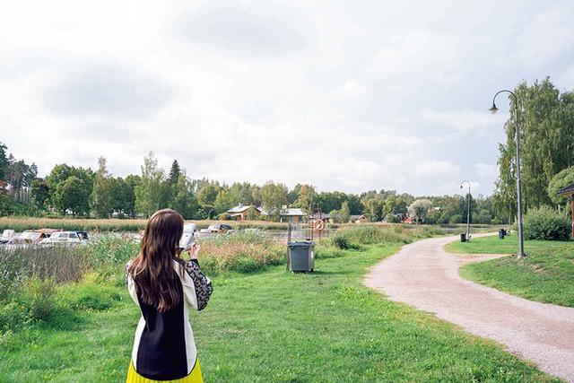 画像: 高山が地元千葉を思い出したフィンランドの風景 『高山一実写真集 独白』(徳間書店)撮影:嶌村吉祥丸