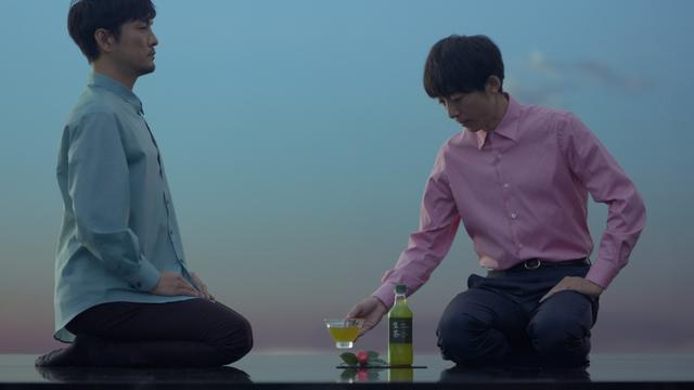 画像: 高橋一生と森山直太朗がセッション! 「キリン 生茶」新CM