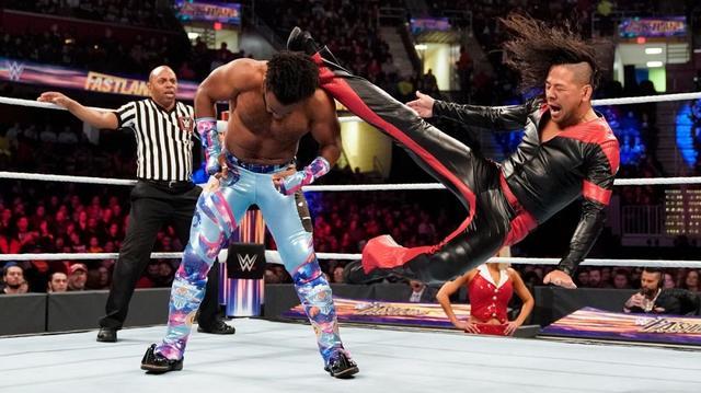 画像: 中邑&ルセフがニュー・デイに敗戦【3・10 WWE】