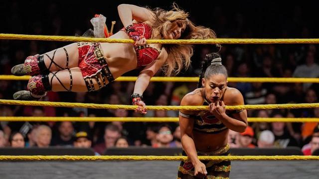 画像: 4・5女子王座戦はシェイナ、イオ、ビアンカ、カイリのフェイタル4ウェイ戦【NXT】