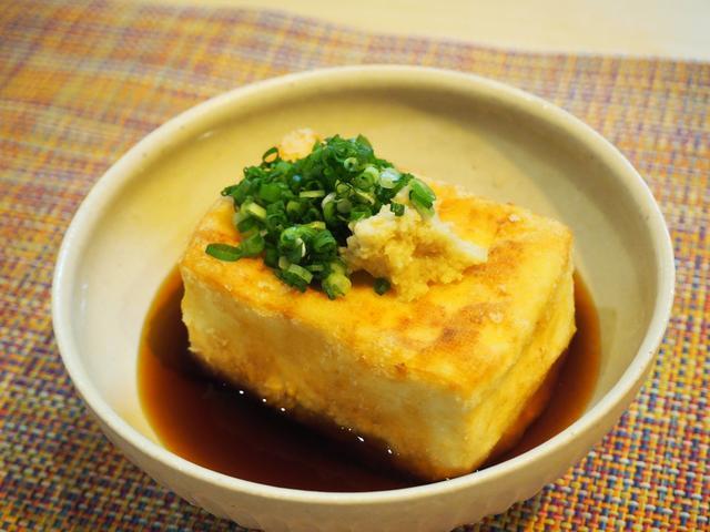 画像: まるで和食店の味!揚げだし豆腐【午前0時に揚げてみた】