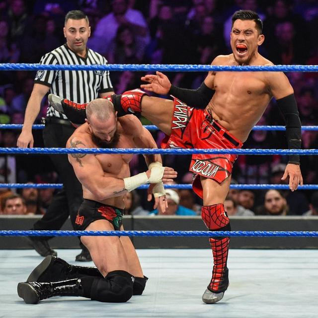 画像: 戸澤がセコンドの介入でケネリスに惜敗【3・19 WWE】