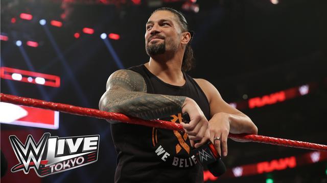 画像: ローマン・レインズがWWE日本公演「WWE Live Tokyo」参戦へ