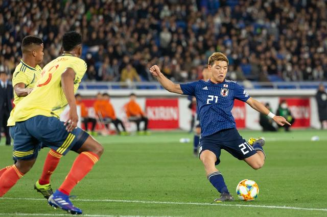 画像: サッカー日本代表 香川復帰もコロンビアに0-1完封負け