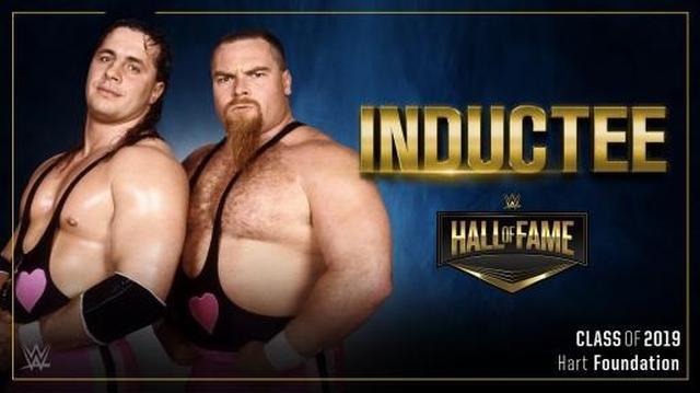 画像: ハート・ファウンデーションが2019年のWWE殿堂入り【3・25 WWE】
