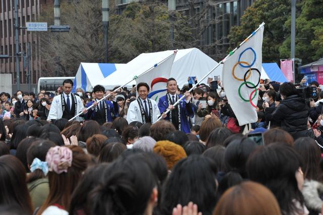 画像: TOKIOがパラスポーツで対決 東京2020オリンピック・パラリンピック フラッグツアーファイナルイベント〜Tokyo2020 500 Days to Go!〜