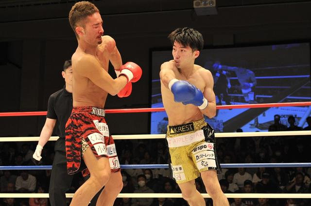 画像: 西京佑馬が島野を破りスーパー・フェザー級王座獲得【3・30 Krush】