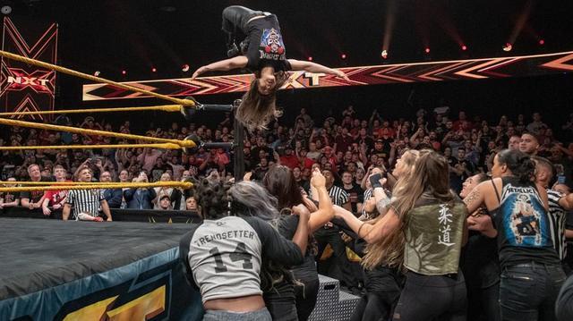 画像: 「NXTテイクオーバー」の4ウェイ王座戦に向けイオが存在感【4・4 WWE】