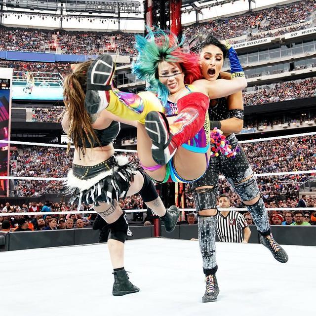 画像: アスカとカイリはバトル戦出場。中邑はタッグタイトルに挑戦も...【4・7 WWEレッスルマニア】