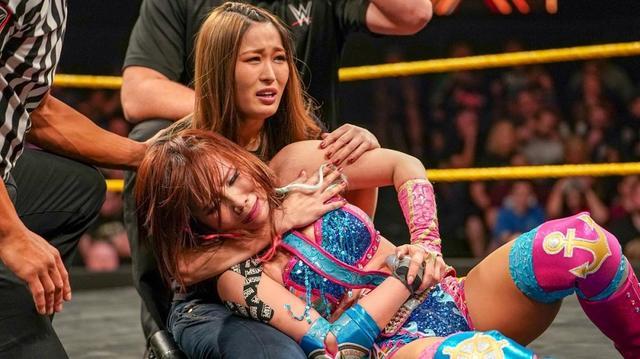 画像: カイリが最後のNXT女子王座戦で右腕破壊され反則負け【4・18 WWE】