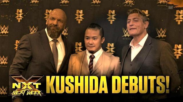 画像: KUSHIDAのNXTデビュー戦の相手がカシアス・オーノに決定【WWE】