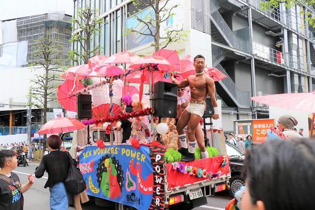 画像: 「東京レインボープライド2019」プライドパレードに過去最高の1万人参加