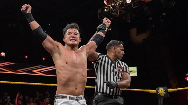 画像: KUSHIDAがホバーボードロックで鮮烈デビュー飾る【5・2 WWE NXT】