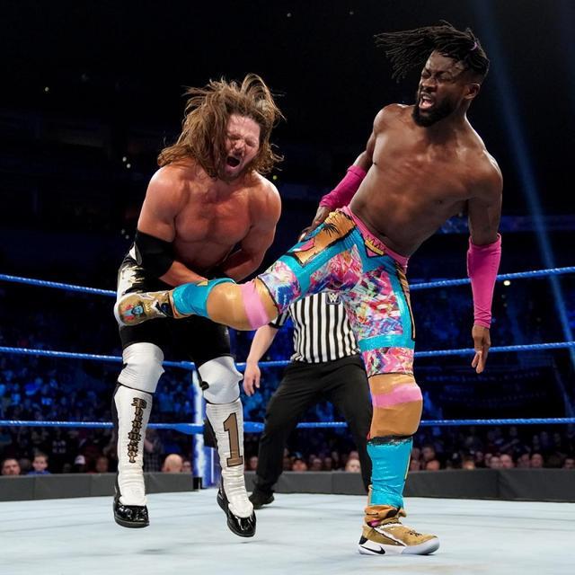 画像: キングストンがWWE王座防衛。ブライアン&ローワンが新SDタッグ王者に!【5・7 WWE】