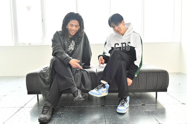 画像: THE RAMPAGE長谷川と後藤がトーク、靴は「観る」それとも「履く」?【The best Kicks by R×K Project】