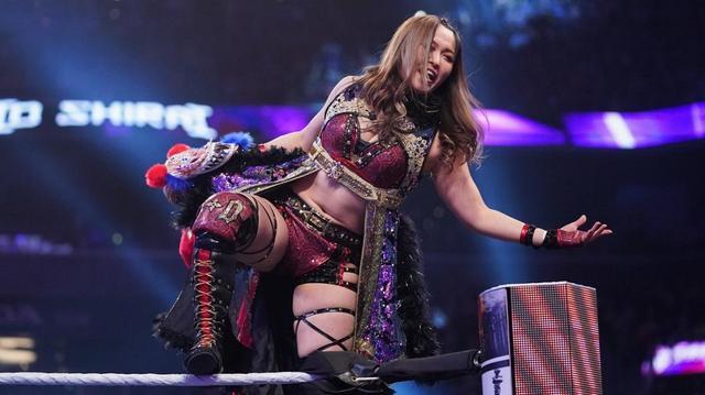 画像: 紫雷イオのNXT女子王座挑戦が決定【6・1 WWE】