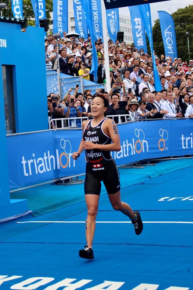 画像: トライアスロン女子・高橋、自己ベストで東京五輪へ弾み
