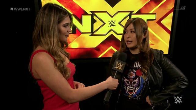 画像: イオに強力な援軍。シェイナ戦のセコンドにキャンディス【6・1 NXTテイクオーバー】