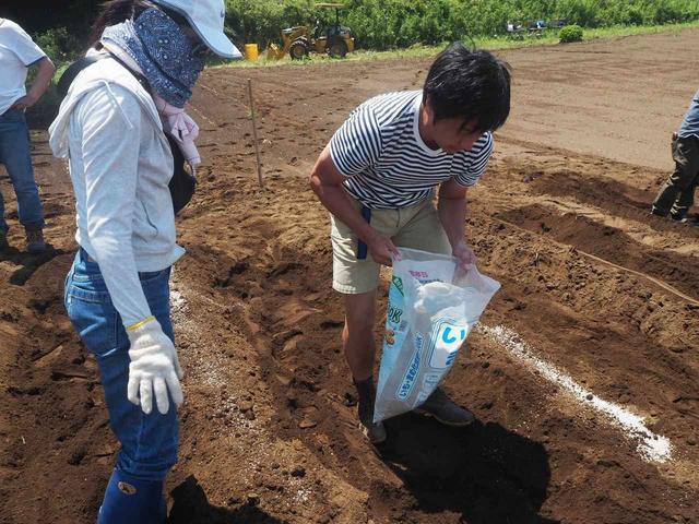 画像3: 新農園でサツマイモの植え付けと青空ゴハン