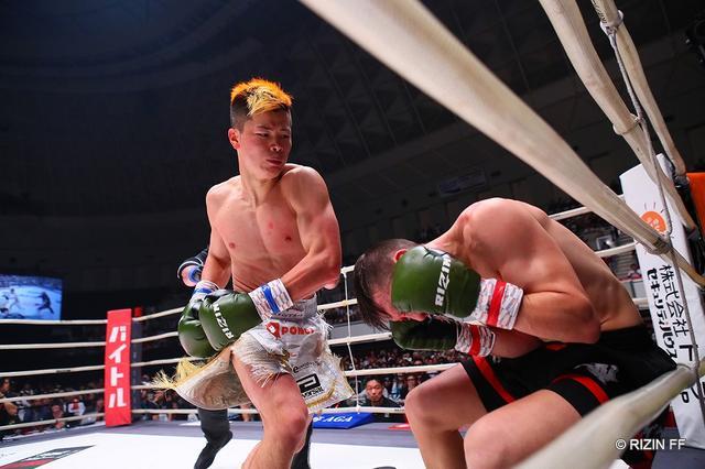 画像: 那須川天心が3ダウン奪う余裕のKO勝ちでISKA王座獲得【6・2 RIZIN】