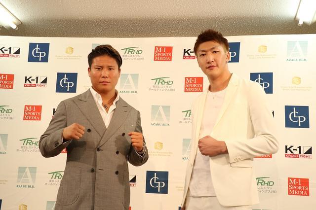 画像: K-JeeとRUIがクルーザー級王座を賭け九州頂上決戦【8・31 K-1 KRUSH】