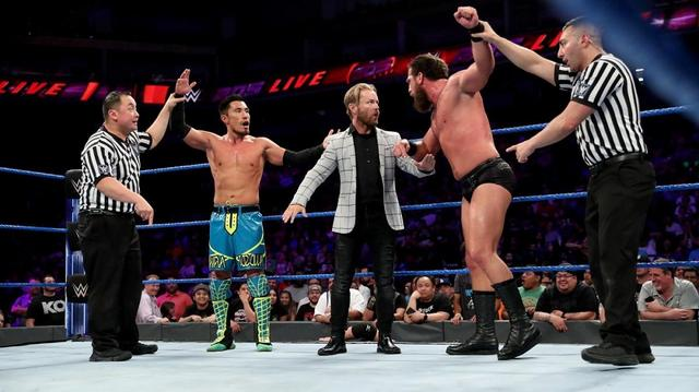 画像: 戸澤とグラックがまさかのダブルフォールで因縁深める【6・11 WWE】