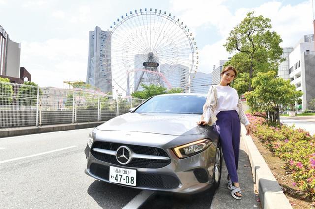 画像: モデル近藤千尋が「メルセデスと過ごす時間」を借りてみた!Part.1