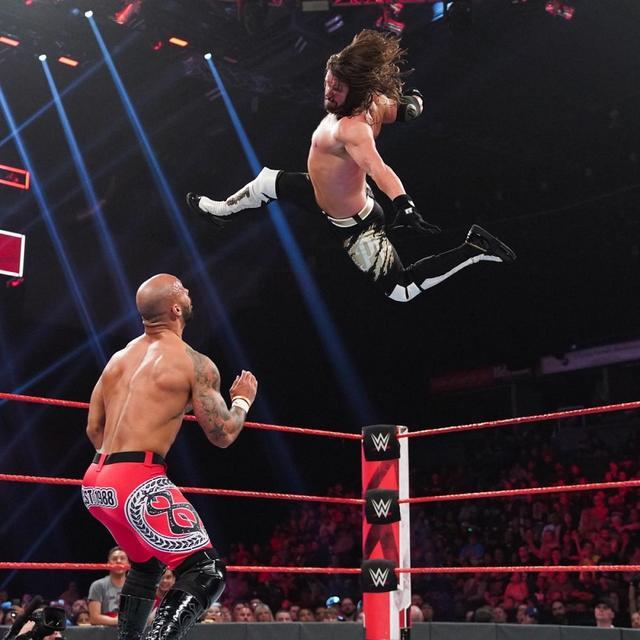 画像: AJスタイルズがメーンでリコシェに貫録勝ち【6・24 WWE】