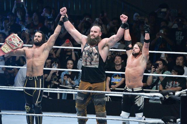 画像: ロリンズが連夜のカーブストンプで日本公演を締めくくる【6・29 WWE】