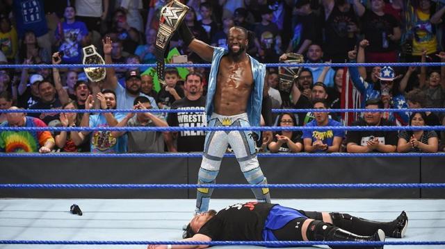 画像: 王者キングストンが挑戦者ジョーに「US王座を失う以外に何をした?」【7・2 WWE】