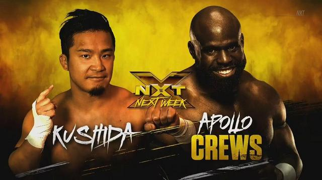 画像: KUSHIDAにスマックダウンからの刺客。次週にクルーズと対戦【WWE NXT】