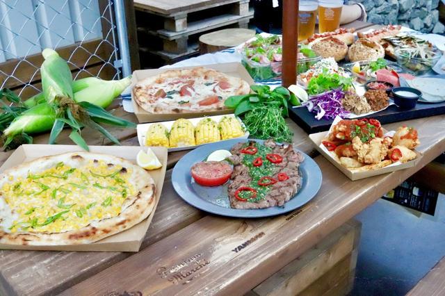 画像: 女子ウケ必至、夏には夏のBBQ! アウトドアビアガーデン「THE FARM TOKYO」で夏野菜とビールを楽しむ